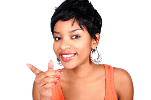 black pixie hirstyle for teen girls