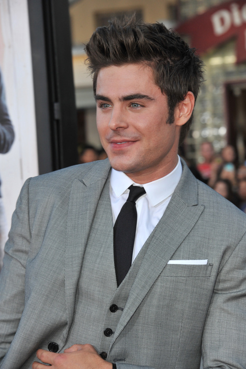 Your Men s hairstyles short zac efron consider, that