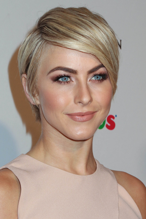 a-line hairstyle for short pixie haircut