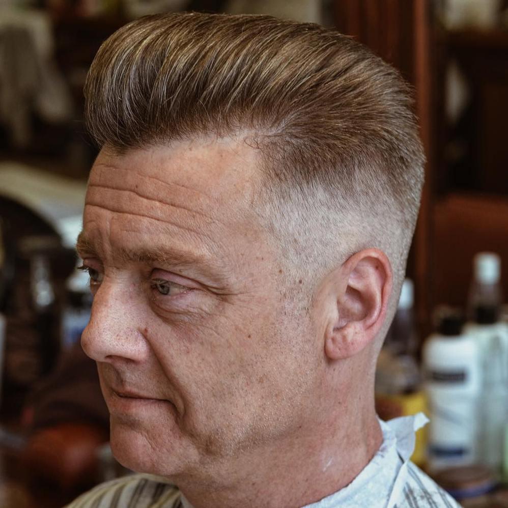 Taper Cut For Receding Hairline