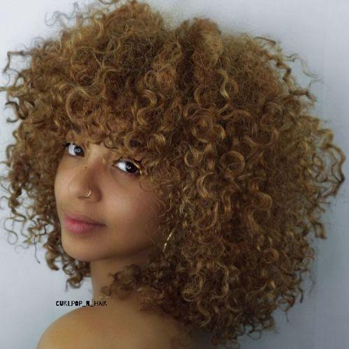 Medium Natural Dark Blonde Hairstyle