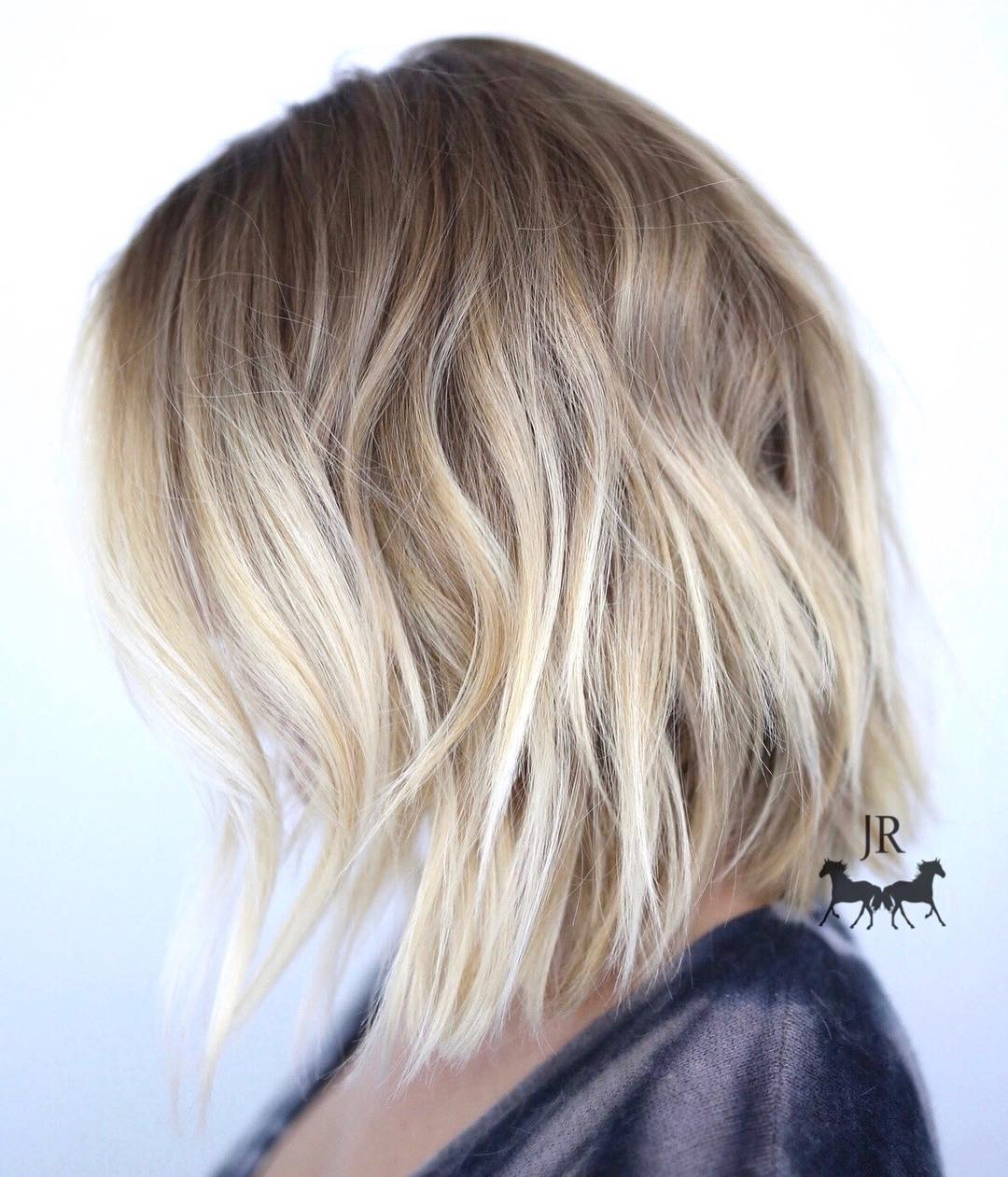 Careless and beautiful styling of medium length hair 12