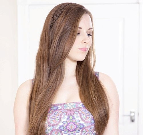 Hairstyle Pic 20 Cute And Comfortable Braided Headband Hairstyles