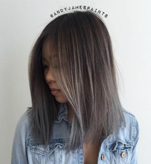 Pics Of Sombre Medium Length Hair - newhairstylesformen2014.com