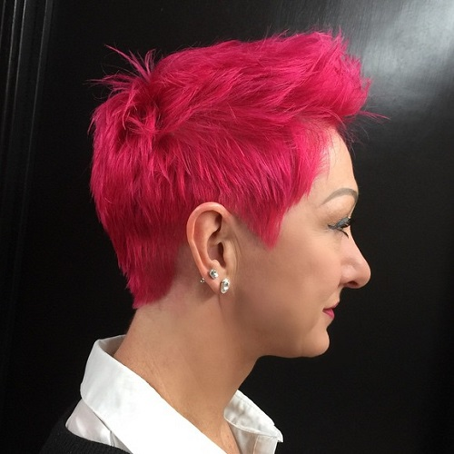 Bright Pink Pixie