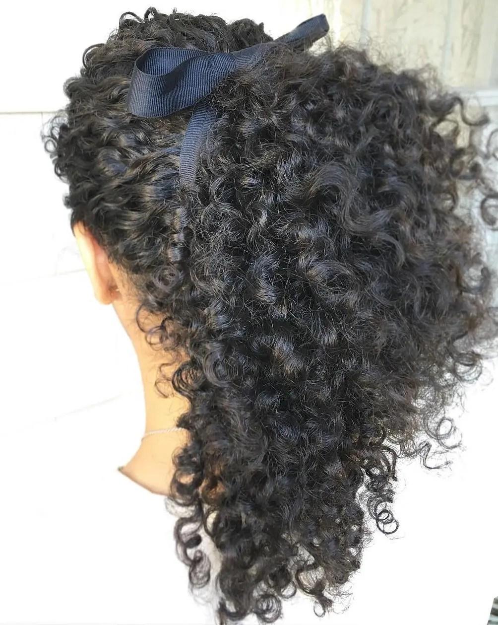 Ponytail For Natural Hair