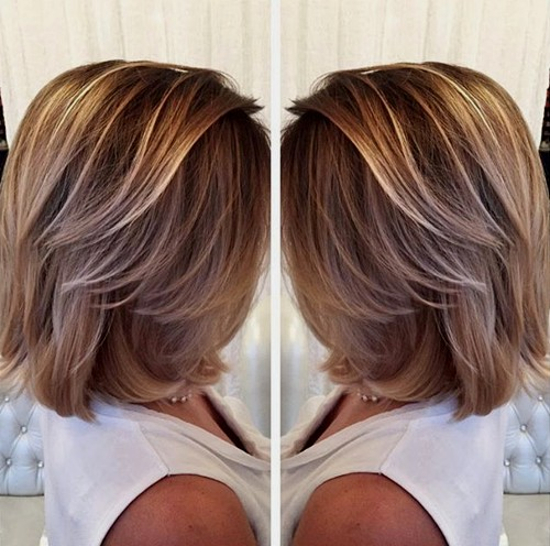 dishwater blonde hair with balayage highlights