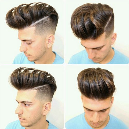 Galerry pompadour hairstyles for mens