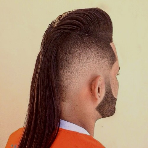 mullet haircuts party