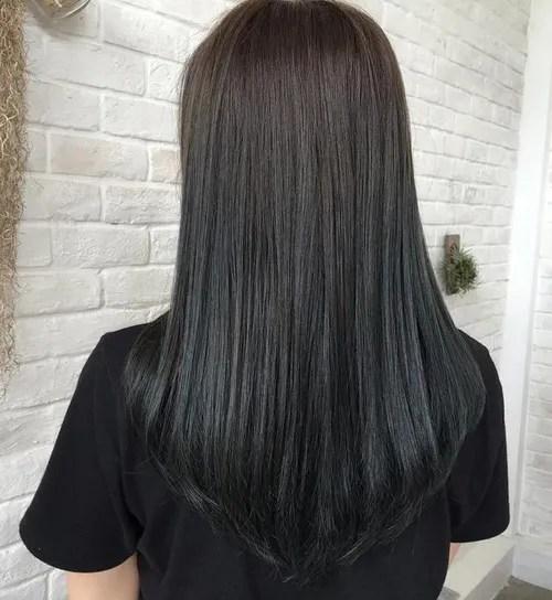 long v haircut