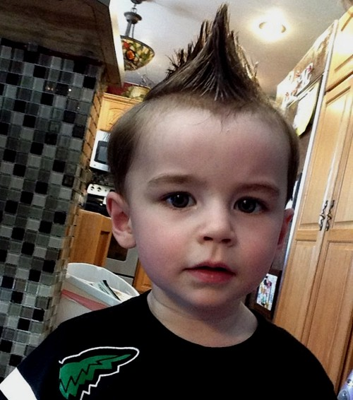 spiked mohawk for little boys