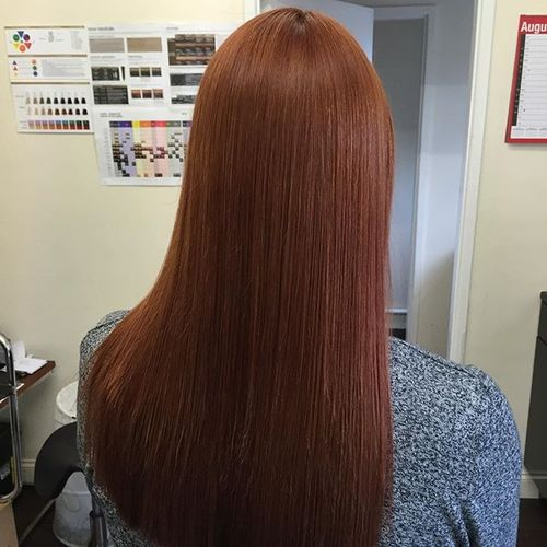 auburn hair colors emphasize