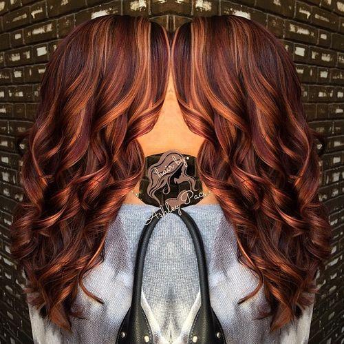 50 glamorous auburn hair color ideas