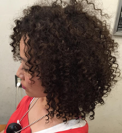 layered perm hairstyle
