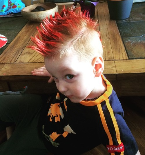 kids spiky mohawk