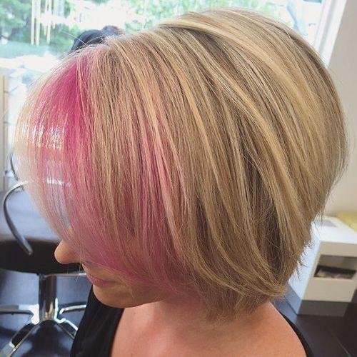 peekaboo hairstyles : 20 Pretty Ideas of Peek a Boo Highlights for Any Hair Color