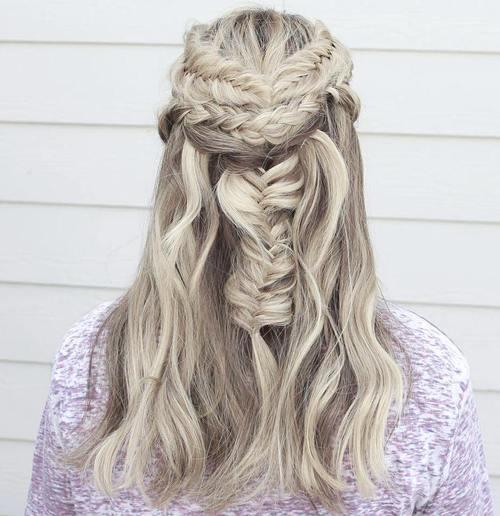 platinum highlights for dark blonde hair
