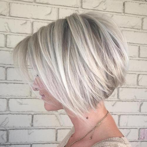 how to cut a line bob with layers
