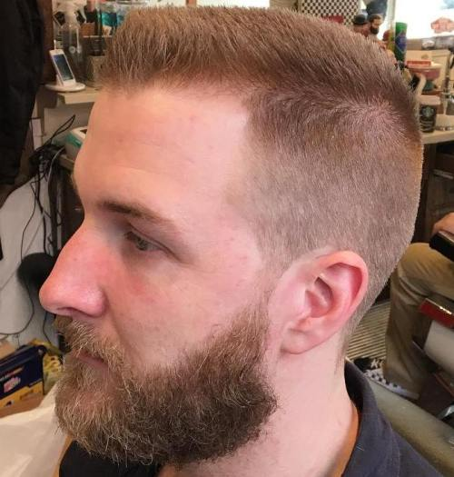 short flat top haircut for guys