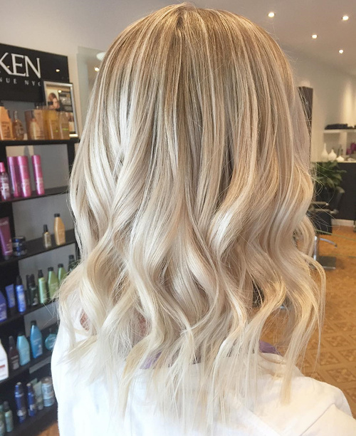 Crystal Ash Blonde Hair Color Ideas For Winter 2016: The Best Winter Hair Colors You'll Be Dying For In 2017