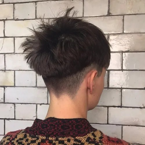 Shaggy Bowl Cut Style