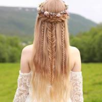 3-boho-braided-half-updo-for-long-hair