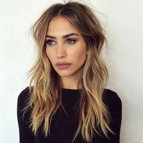 Layered Bronde Hairstyle
