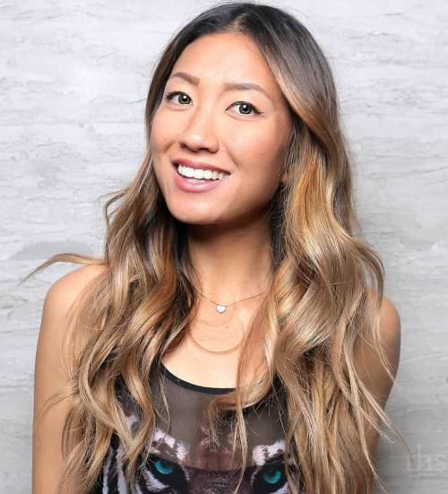 Light Ash Brown And Blonde Balayage