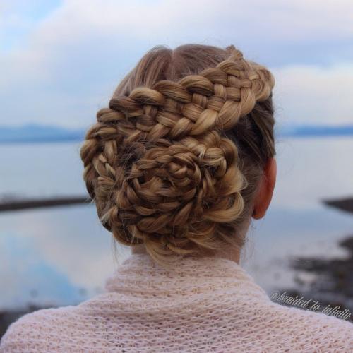 Seashell Strand Braid Updo