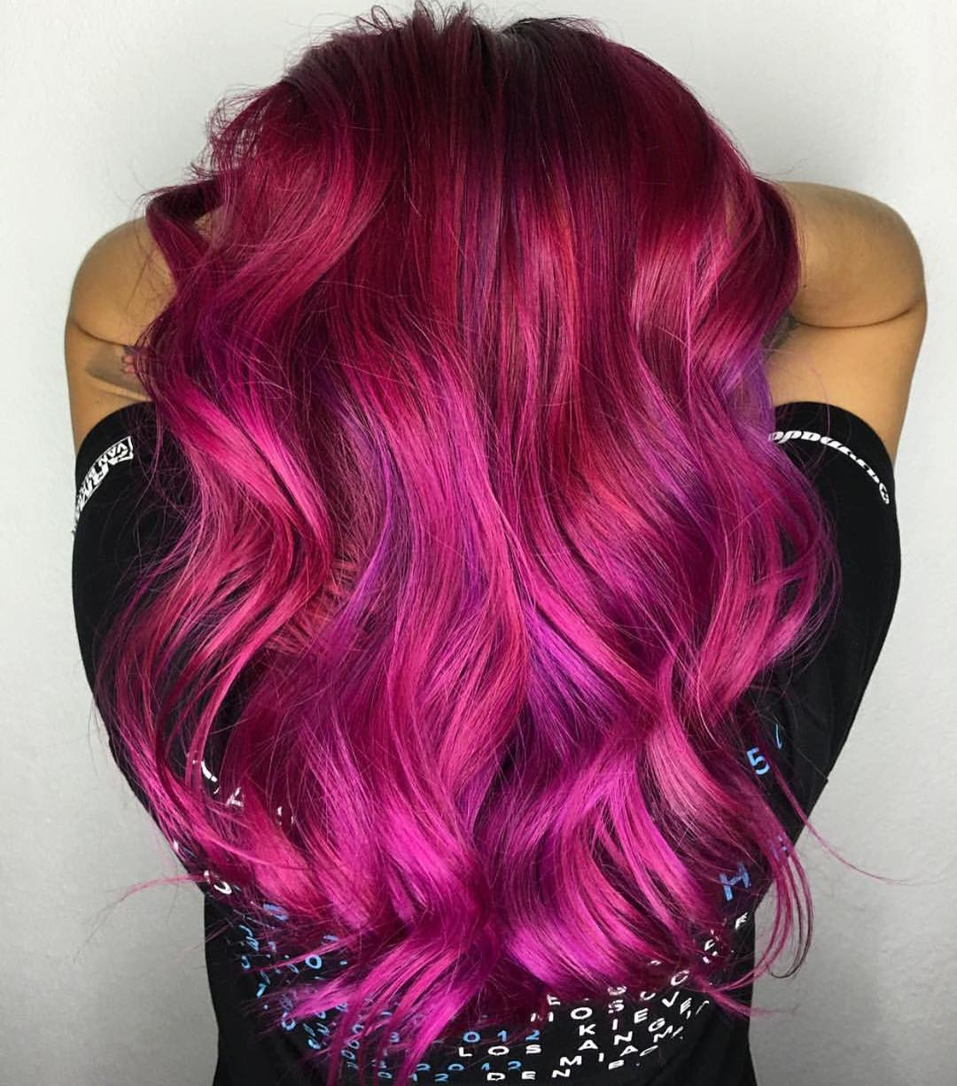 20 Unboring Styles with Magenta Hair Color