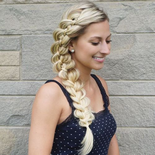 Long Side Ribbon Braid