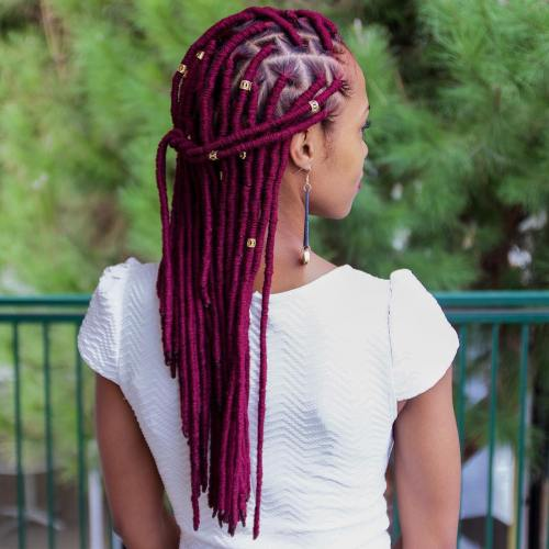 20 Fabulous Funky Ways To Pull Off Faux Locs