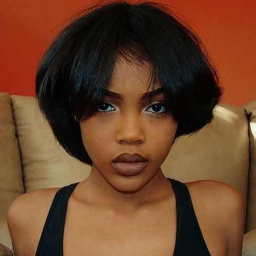 African American Pageboy Haircut