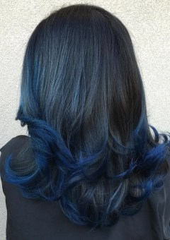 9-blue-dip-dye-for-black-hair