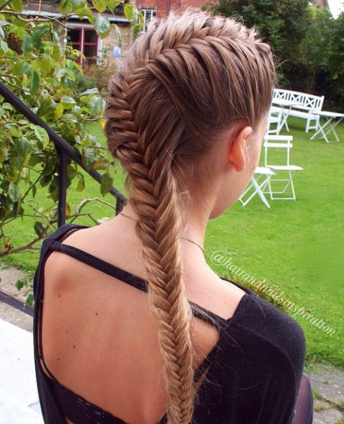 Fishtail For Long Hair