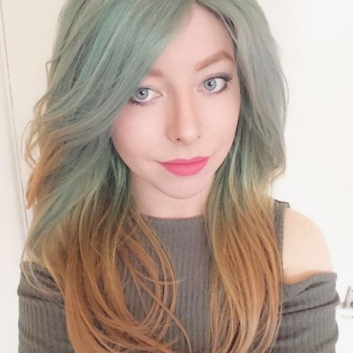Grey To Light Brown Ombre Hair