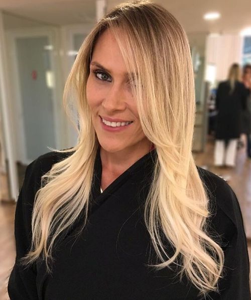 Blonde Balayage Ombre Hair