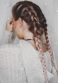 lazy winter hairstyles