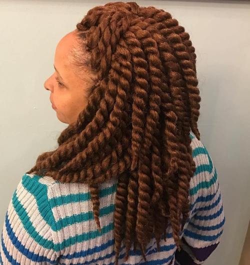 Thick Layered Twists Braids