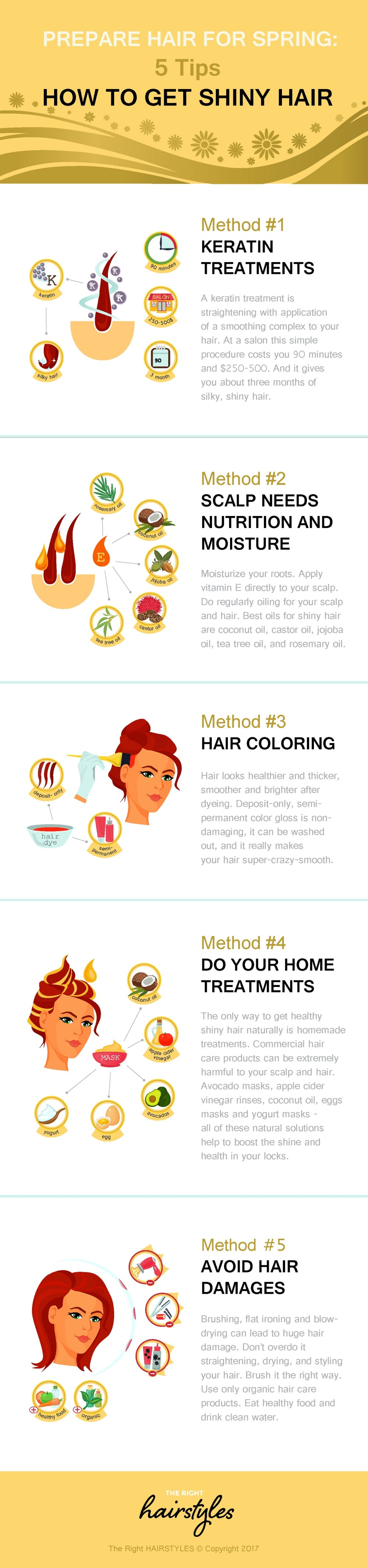 how to get salon shiny hair