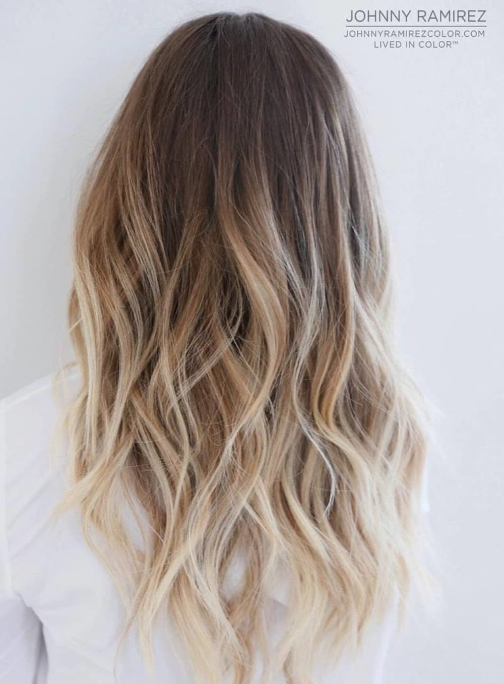 Hair color techniques balayage