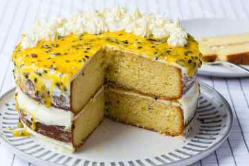 Thermomix Passionfruit Cake