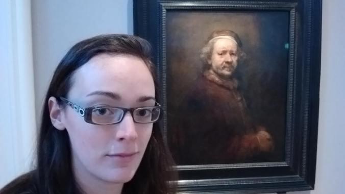 Museum selfie! Rembrandt in the Ulster museum discovernorthernireland visitbelfast belfasthellip
