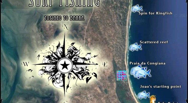 Tofinho to Barra surf fishing