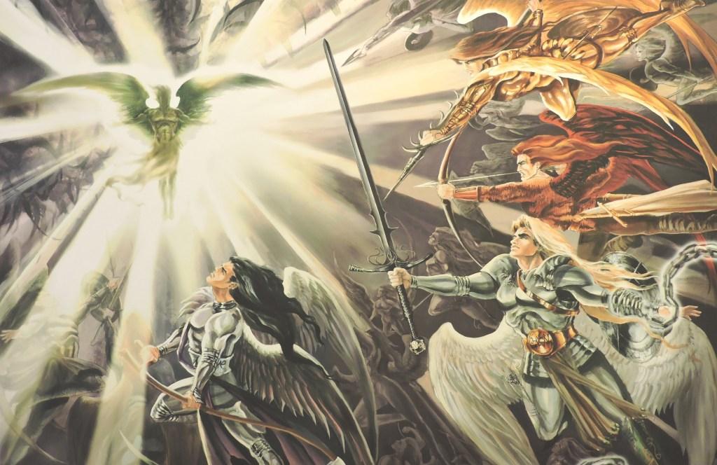 Ruth Thompson War in Heaven Print