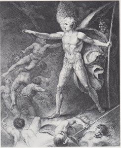 Thomas Stothard, Satan Summons His Legions (1792-93)