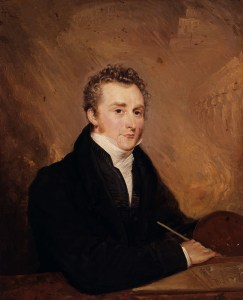 Henry Warren, Portrait of John Martin (1839)