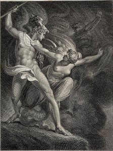 James Neagle, after Henry Fuseli, Satan and Death Separated by Sin (1802)