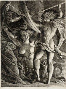 Satan, Sin and Death (ca. 1792-95)