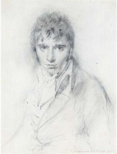 Thomas Lawrence, Portrait of Richard Westall